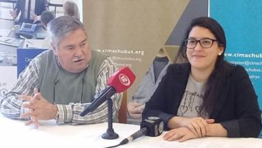 Virginia Alonso Roldán, Pía Rius y Lorena Álvarez, de UTN Regional Chubut participarán del encuentro.