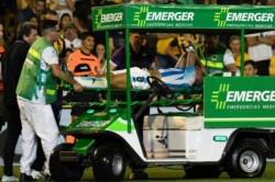 Baja importante para Racing. Se suma a Solari y al pibe López con la misma lesión. De 6 a 8 meses afuera.