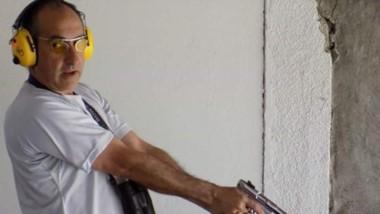 Serda fue el ganador en la Categoría A de Arma Corta 22 de precisión.