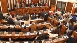 El momento en que la cámara de Diputados de Bolivia aprobó la norma.