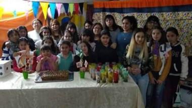 """La primera celebración fue en el Centro Juvenil """"Proyecto de Vida""""."""