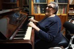 Elvira Ceballos era una eximia pianista (foto @diariocarlospaz)