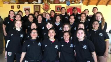 Ellas son las chicas que representarán a la Unión del Valle del Chubut.