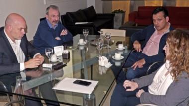 El ministro de Salud Pizzi se reunió con su par de Santa Cruz en la Casa del Chubut en Buenos Aires.