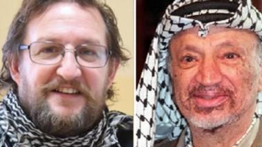 Ironía. El diputado Alfredo Di Filippo comparó al secretario general de ATECh con el mítico líder palestino.