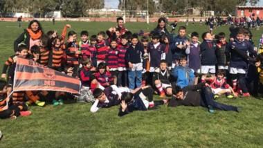 El fin de semana pasado se realizó un encuentro de rugby infantil en las instalaciones de Puerto Madryn RC.
