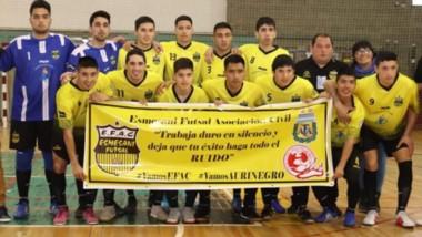 Esmesani, campeón del torneo Oficial organizado por la Liga del Valle, disputó la Fase Regional y venció en la tercera fecha a Gladiadores, por 6-5.
