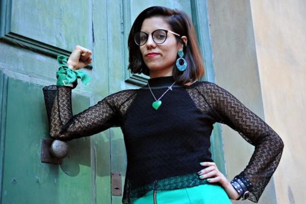María Florencia Alcaraz, codirectora del medio María Florencia Alcaraz, codirectora del medio.
