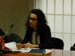 Funcionaria de fiscalía, Anya Pucheta.
