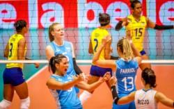Ellas lo volvieron a hacer, ahora en rodeo ajeno. Argentina derrotó a Colombia 3-1 y clasificó los Juegos Olímpicos de Tokio 2020.