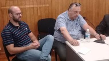 Estafa. Guillermo Fernández (izquierda) y su padre Gustavo, protagonistas de la maniobra ante CORFO.