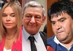 """""""No es no"""". Lloyd Jones, Chiquichano y Giménez se manifestaron en contra, inclusive, de su sector político."""