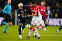 En un partido frenético, PSG y Monaco empataron 3-3. El equipo de Tuchel, que venía de 6 victorias consecutivas en Ligue 1, lo ganaba 1-0 y 3-2, y lo perdía 2-1.