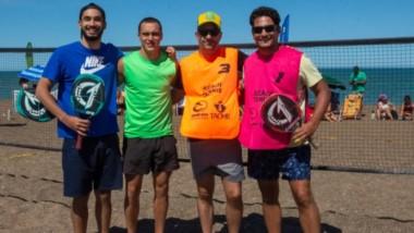 Se disputó ayer en Playa Unión un torneo de Beach Tenis, entre otras actividades deportivas celebradas el fin de semana en las arenas capitalinas.