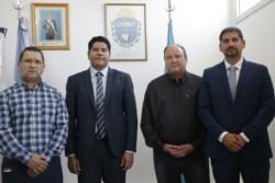 El secretario de Trabajo del Chubut, Cristian Ayala, tomó juramento este lunes a tres nuevas autoridades en la cartera laboral.