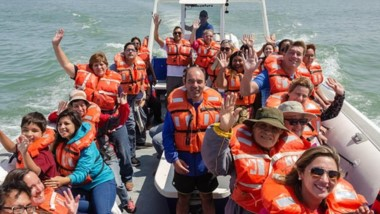 Avistajes inclusivos se suman al verano en la costa.