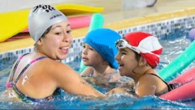 Alrededor de mil niños, participan de las diversas actividades, en la colonia de  vacaciones en Trelew.