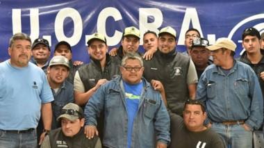 Esperanzados. Los obreros de la Doble Trocha cobrarán parte del dinero que les debe la empresa Sapag.
