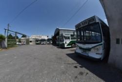 El trasporte en la ciudad estaba interrumpido desde el viernes de la semana. Foto: Daniel Feldman / Jornada