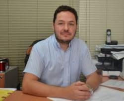 Titular de Rentas de la Municipalidad de Trelew, Cristian Rodríguez