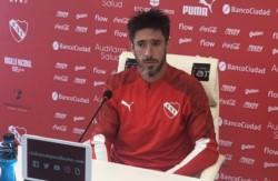 """Pablo Pérez en conferencia de prensa: """"Las ideas del técnico son muy buenas, nos va venir muy bien adaptarnos a eso""""."""