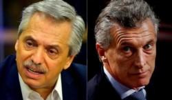 Fernández dijo que Macri