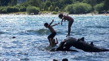 ¡Al agua pato! La Playita es el balneario familiar por excelencia.