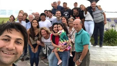 Cola de ballena. Una selfie de la dirigencia del Pro, que se apresta a sus elecciones internas en marzo.
