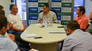 El titular de Chubut Deportes recibió a sus pares de Comodoro Deportes, para trabajar en conjunto.