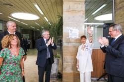 """""""La memoria no se puede robar ni destruir"""", aseguró Alberto Fernández en un homenaje al hijo de Taty Almeida."""