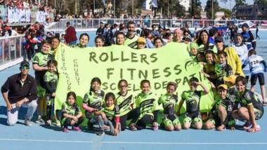 Mauro Acuña,  junto a la secretaria, y entrenadora, Lorena Ludueña, se notóaron muy agradecidos por el recibimiento en Chubut Deportes.