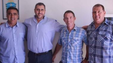 Gustavo Hernández se reunió con Durán, presidente de Germinal, y Bravo González, su posible sucesor.