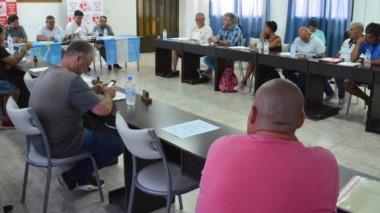 La asamblea de elección de autoridades se desarrolló ayer en la sede de la Liga del Valle, en Trelew.