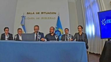La presentación del paquete de medidas que impulsa el Gobierno y que deberá pasar por Legislatura.