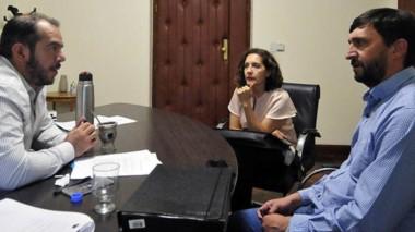 El ministro de Gobierno recibió al intendente para hablar sobre las prioridades para Trevelin.