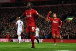 Mané y Salah, marcaron los goles en un nuevo triunfo del Liverpool.