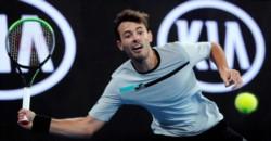 Debut y despedida. Juan Ignacio Londero le dijo chau al Abierto de Australia luego de caer en el tour ante Grigor Dimitrov.