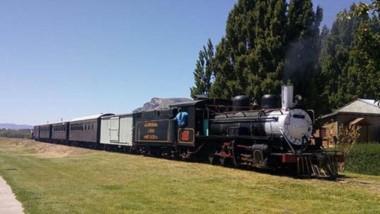 Puro corazón ferroviario. El Maitén sigue latiendo al ritmo del trencito patagónico.