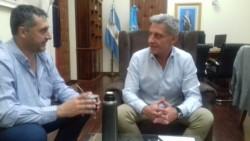 Arcioni le confirmó a Gustavo Hernández, presidente de Chubut Deportes, que habrá apoyo económico para los clubes que juegan el Regional.