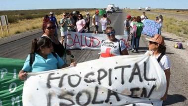Los trabajadores de la Salud también reclaman que se actualice el básico de acuerdo a lo que fue acordado dentro de las paritarias.
