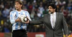 En la previa del Gimnasia-Vélez, el Gringo palpitó su reencuentro con Diego y lo elogió.