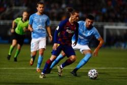 El delantero francés Griezzmann marcó los dos goles del Barcelona.