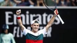 Por segunda vez en su carrera, Diego Schwartzman se mete en octavos de final del primer Grand Slam del año.