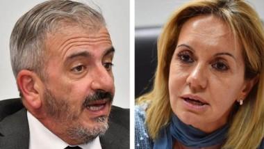 César Zaratiegui. Juez del caso. Silvia Pereira. Fiscal de la causa.