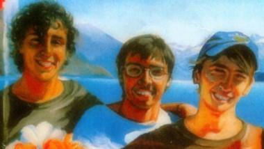 Un mural recuerda el caso desde las paredes del hospital de El Bolsón .