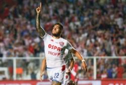 Franco Troyansky convirtió su 7° gol en 42 partidos con la camiseta