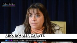 Rosalía Zárate, funcionaria del Gobierno de Zárate, que no se pronunció sobre el tema y nadie le pidió renuncia.