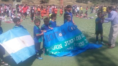 El equipo de fútbol infantil chubutense sumó rodaje y experiencia en un torneo que se jugó en Chile.