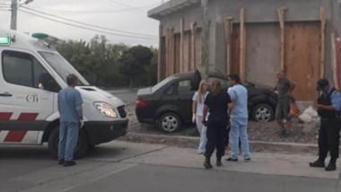 La colisión vehicular sucedió este sábado en la intersección de las calles Cambrin y Belgrano de Trelew.