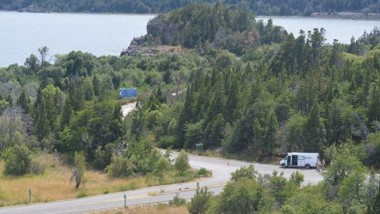 El lugar donde se asienta la comunidad Lof PailakoFutalaufquen.
